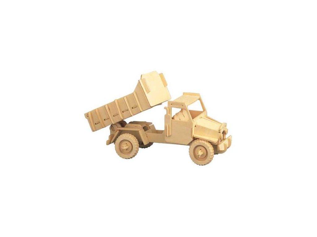 Woodcraft Dřevěné 3D puzzle nákl.automobil