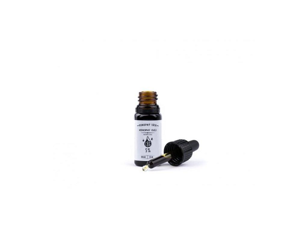 CBG Konopný olej 5% (10ml)