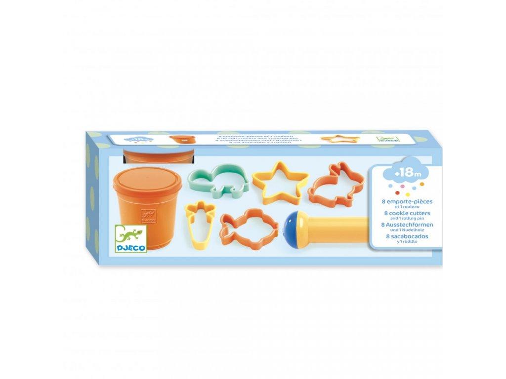 Tvoříme z oranžové modelíny
