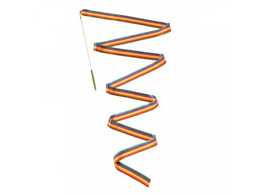 Gymnastická stuha na tyči