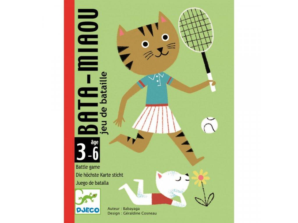 Karetní hra Bata-Mňau (kočičí přebíjená)