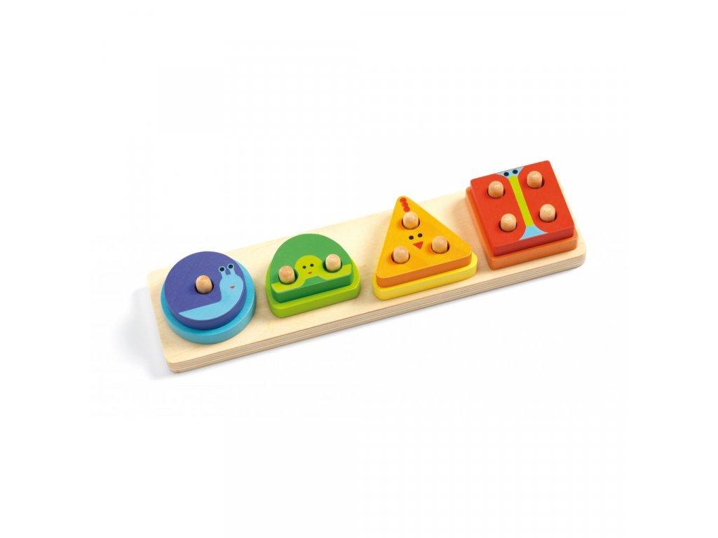 Puzzle - 1,2,3,4 základní