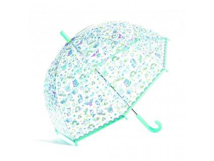 Krásný designový deštník Jednorožci