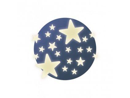 Fosforeskující samolepky na zeď Hvězdičky