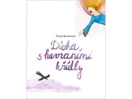 Kniha Dívka s havraními křídly
