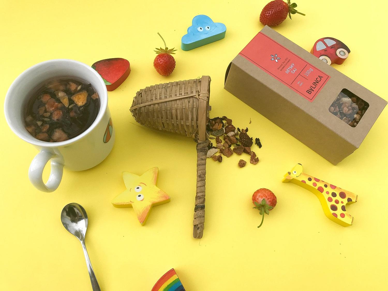 Děti a čaj