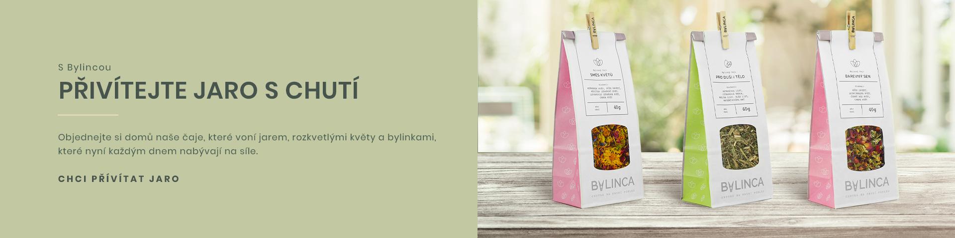 Přivítejte jaro s chutí bylinkových čajů a dalších produktů BYLINCA