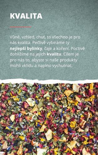 Kvalita čajů BYLINCA