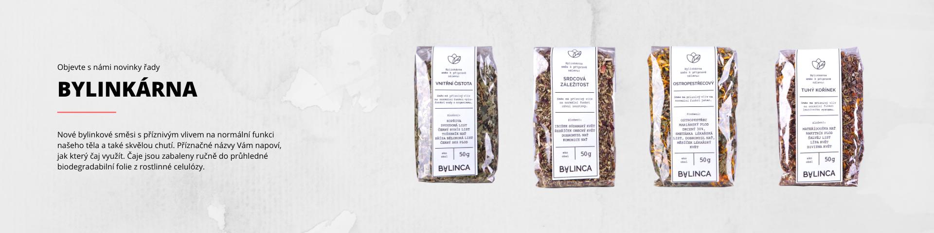 BYLINKÁRNA - bylinkové čaje