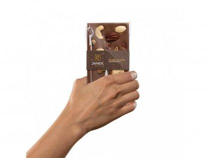 146 tabulka mlecne cokolady jankova pecet v ruce cokoladovna janek