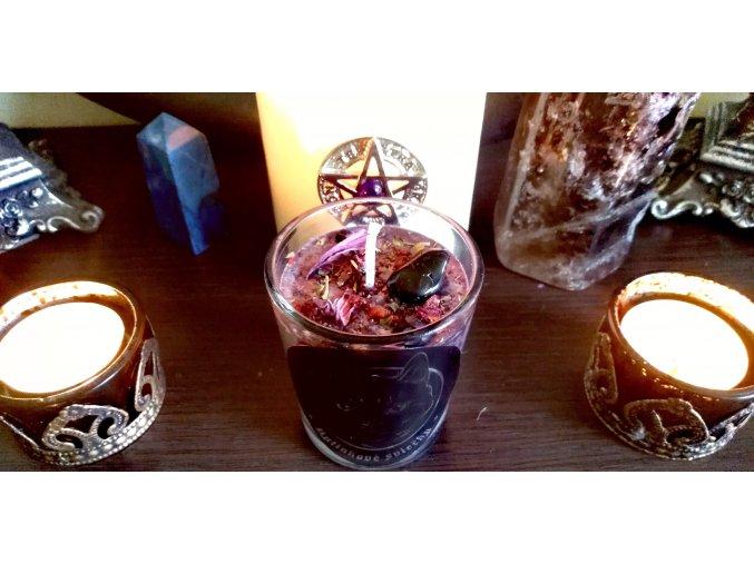 Rituálna bylinková sviečka - Ochrana