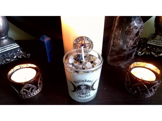 Rituálna bylinková sviečka - Očista