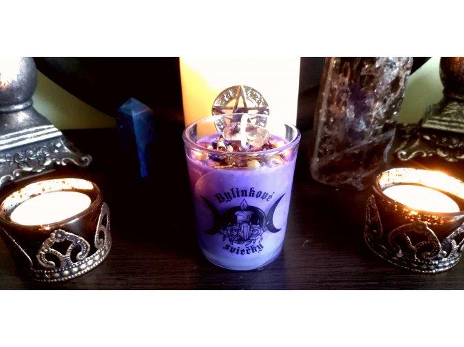 Magicka bylinková sviečka - Witch