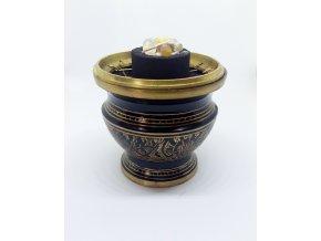 Kadidelnica malá zo zlatým ornamentom