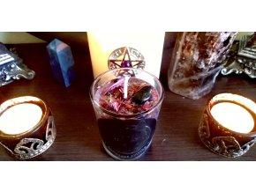 Magická bylinková sviečka - Ochrana