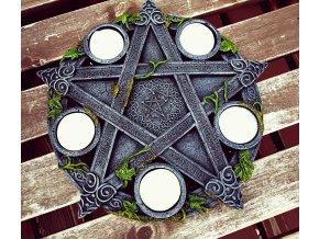 Svietnik Wiccan Pentagram