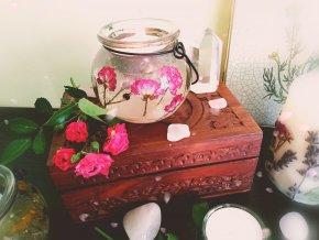 Bylinkový kotlík - Ružová záhrada