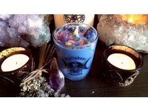 Magická bylinková sviečka - Meditácia