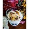 Bylinkový kotlík - Sviečka bylinková lúka