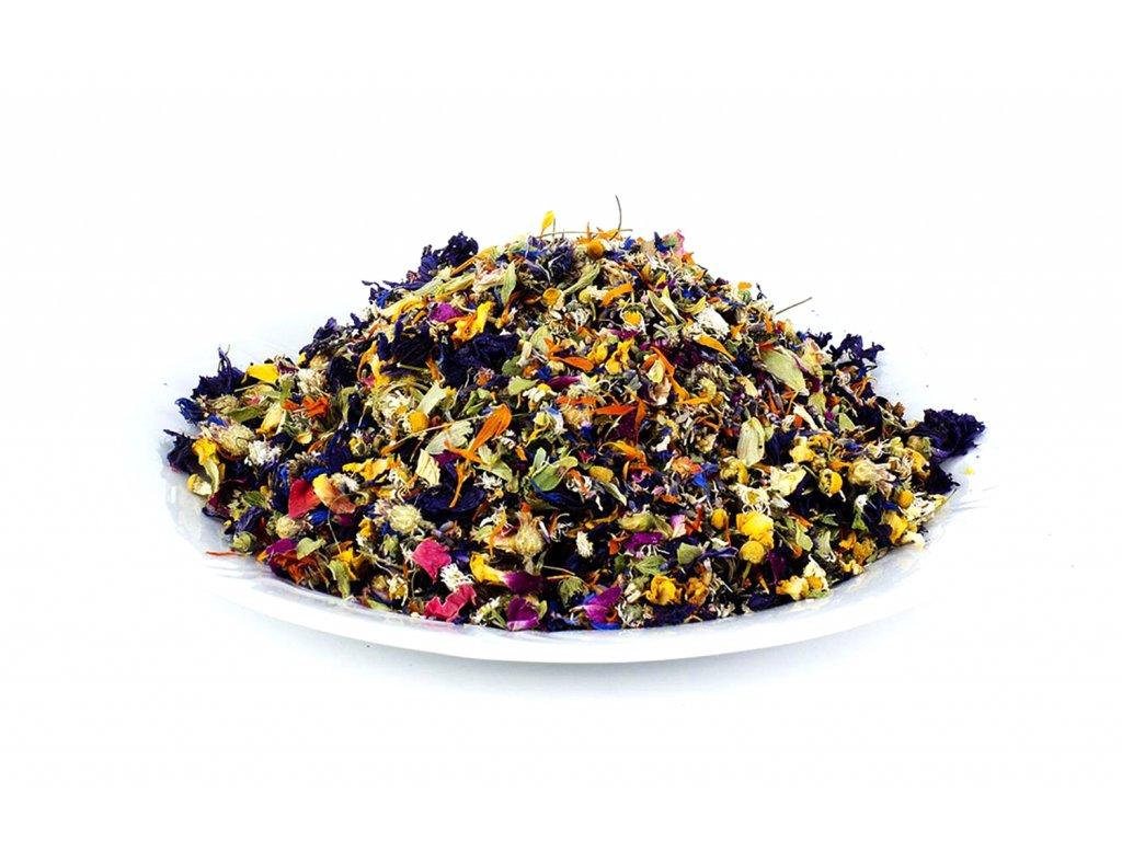 Květový čaj pro ženy a dívky