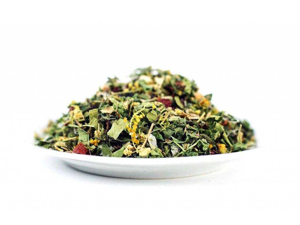 Bylinný čaj na podporu hubnutí
