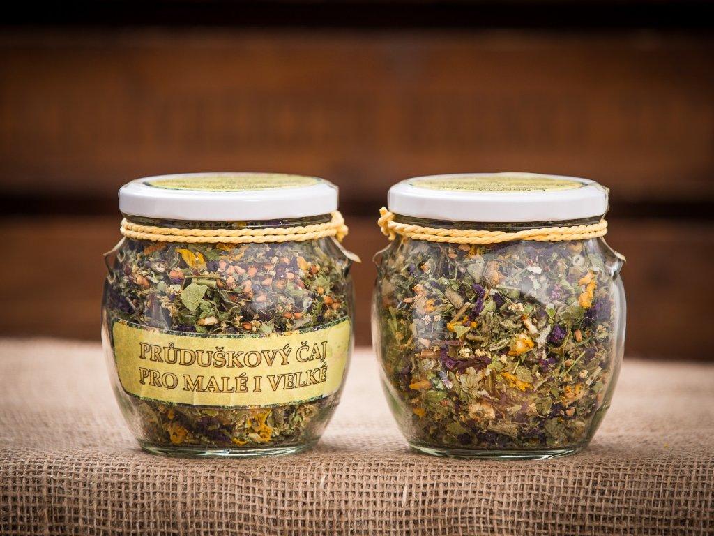 Průduškový čaj pro malé i velké amfora velká 50g