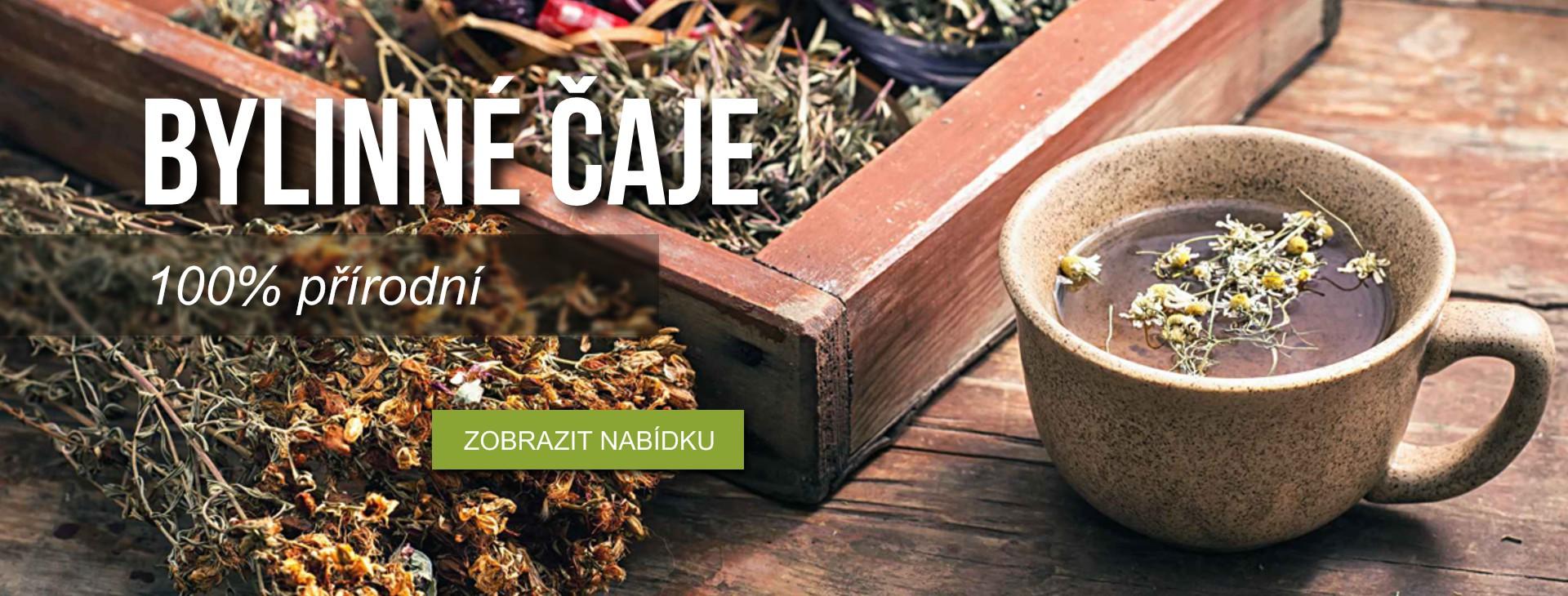 Bylinné čaje - 100% přírodní