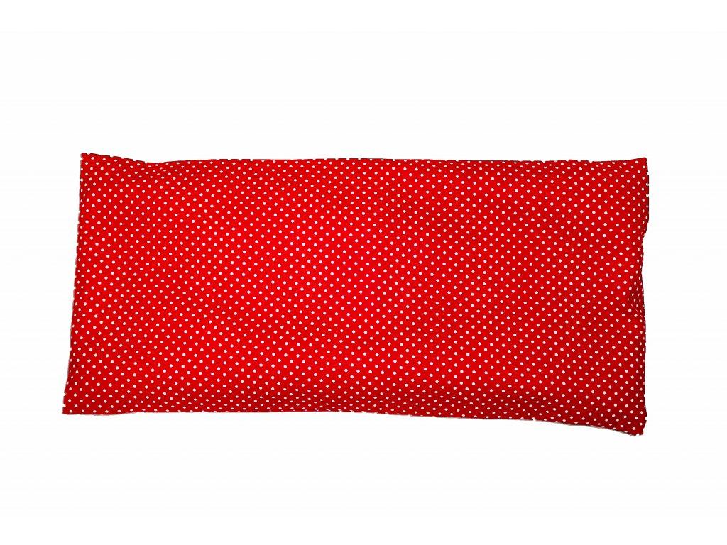 Červené puntíky velký