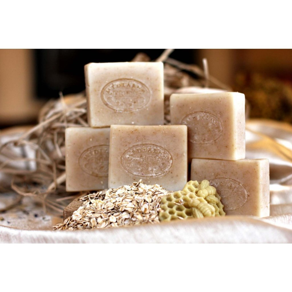580 prirodni ovesne mydlo s medem bez parfemace