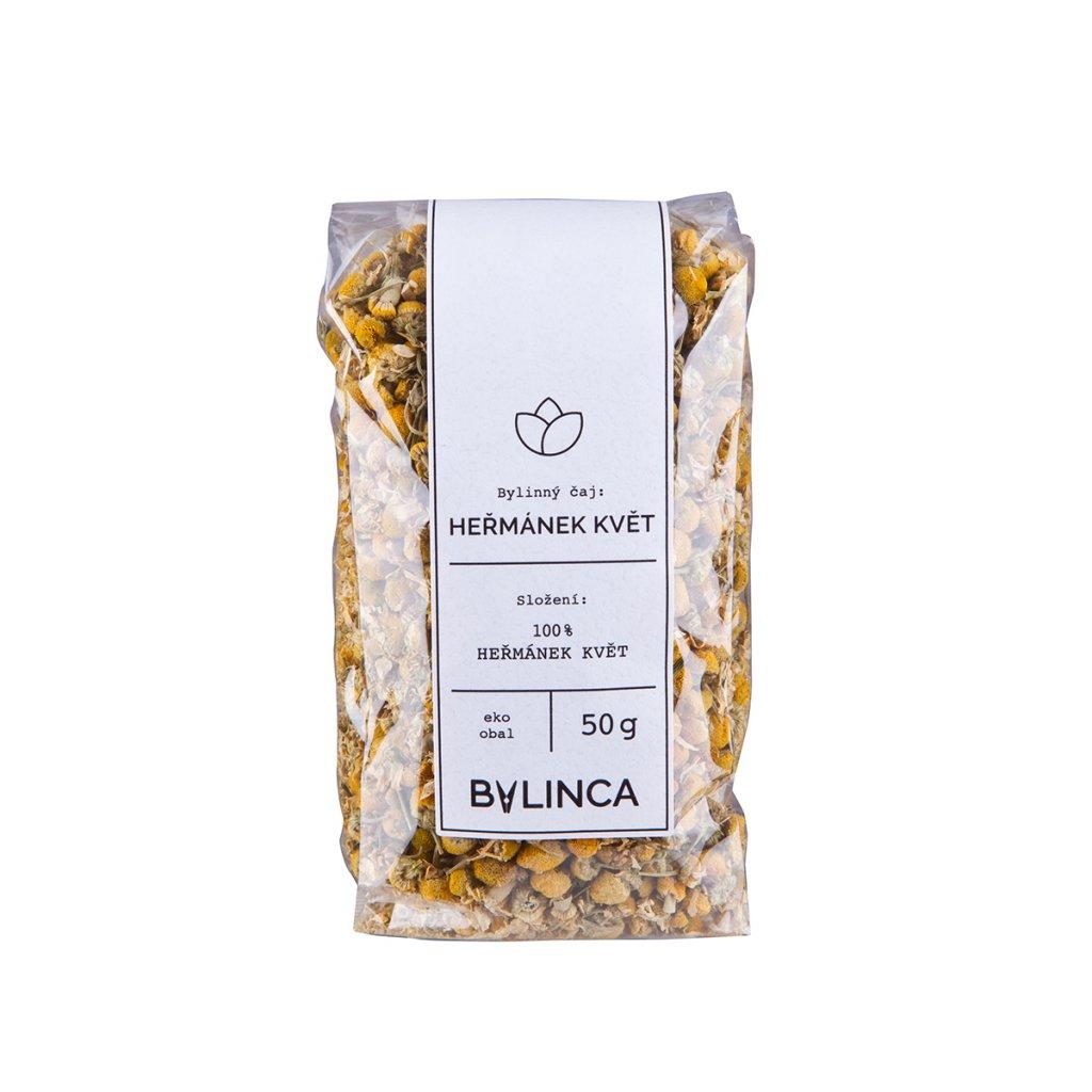 Bylinný čaj: Heřmánek květ 45g