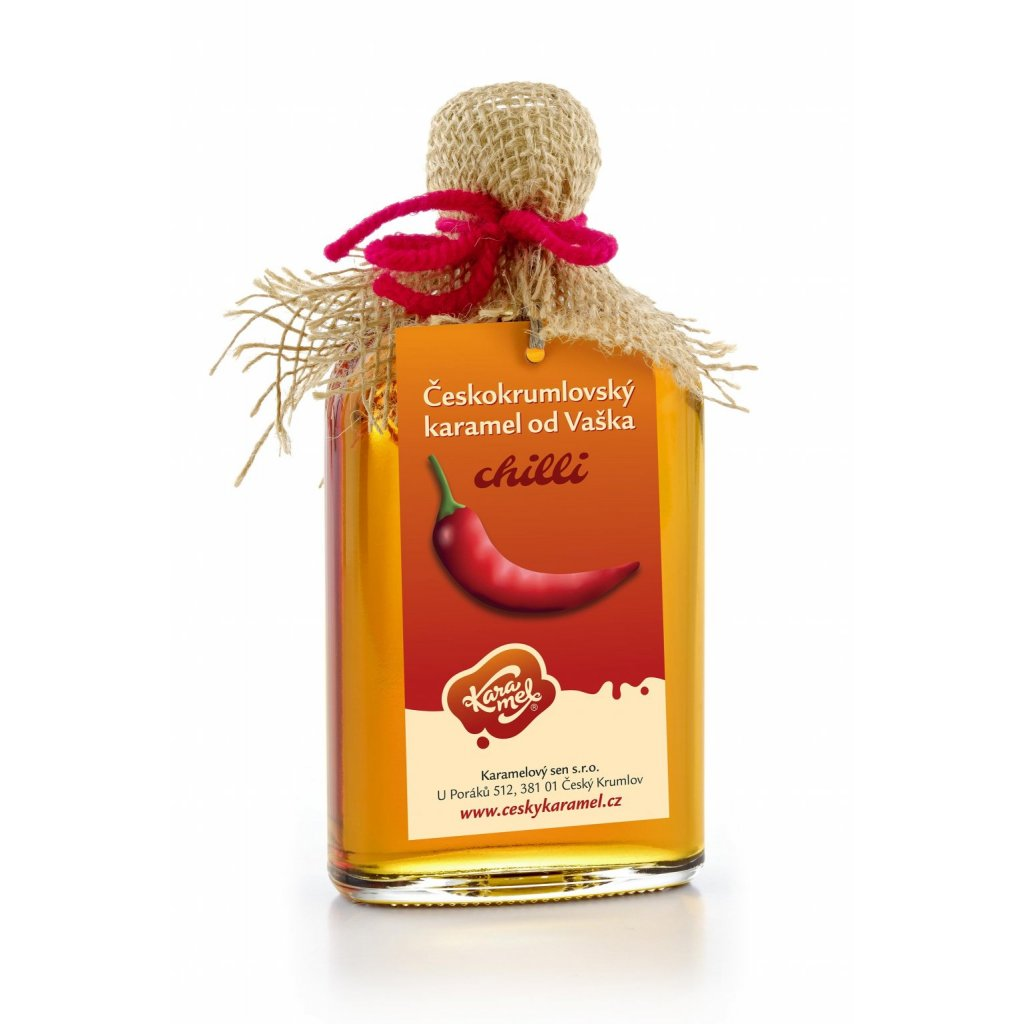 66 tekuty ceskokrumlovsky karamel od vaska chilli
