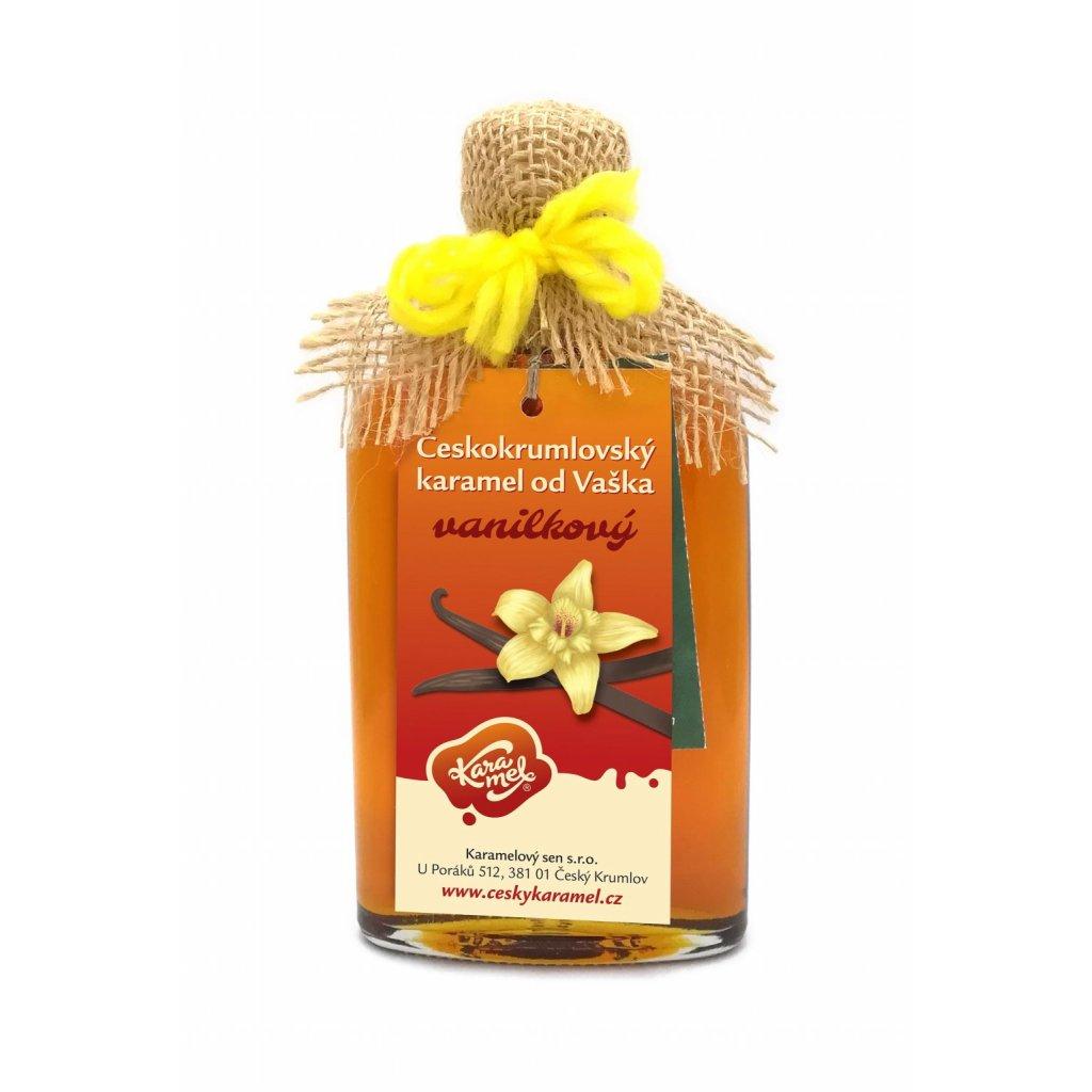120 ceskokrumlovsky tekuty karamel vanilka