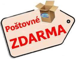 PŘI NÁKUPU NAD 3000,- KČ PRO KLIENTY Z ČR POŠTOVNÉ ZDARMA!!!
