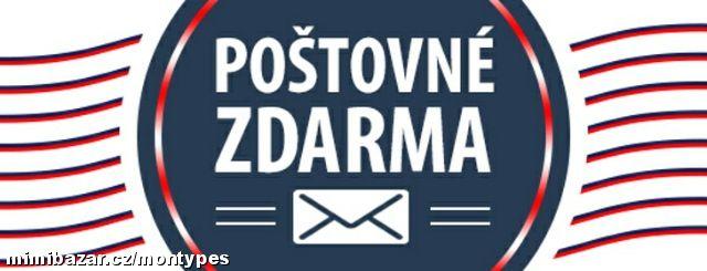 PŘI NÁKUPU NAD 160,- EURO PRO KLIENTY ZE SLOVENSKA POŠTOVNÉ ZDARMA!!!