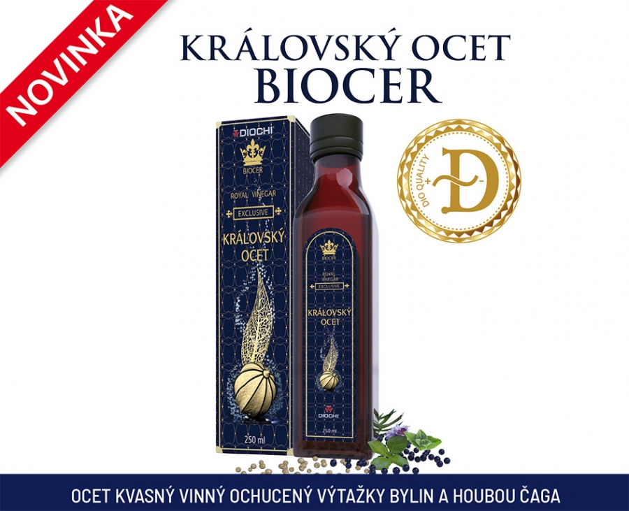 NOVINKA - KRÁLOVSKÝ OCET BIOCER