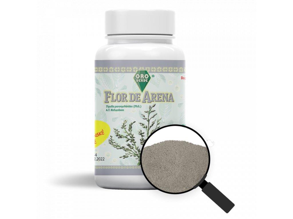 F00141 flor de arena produktova foto s lupou vegekapslecz