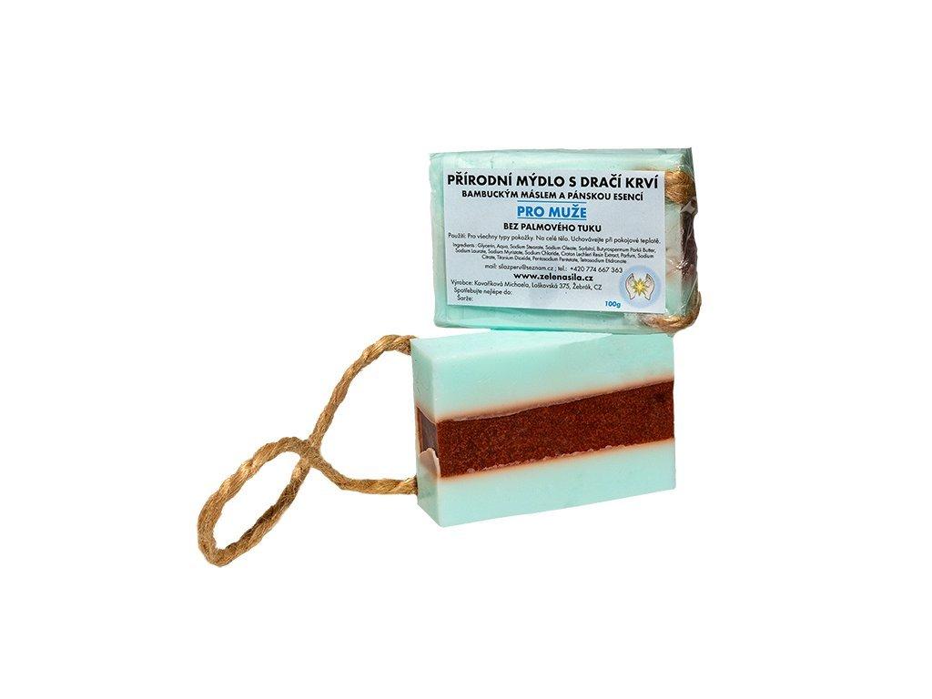 108 mydlo s draci krvi s esenci pro muze
