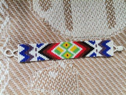 Náramek posvátné tvary kmene Shipibo č.2