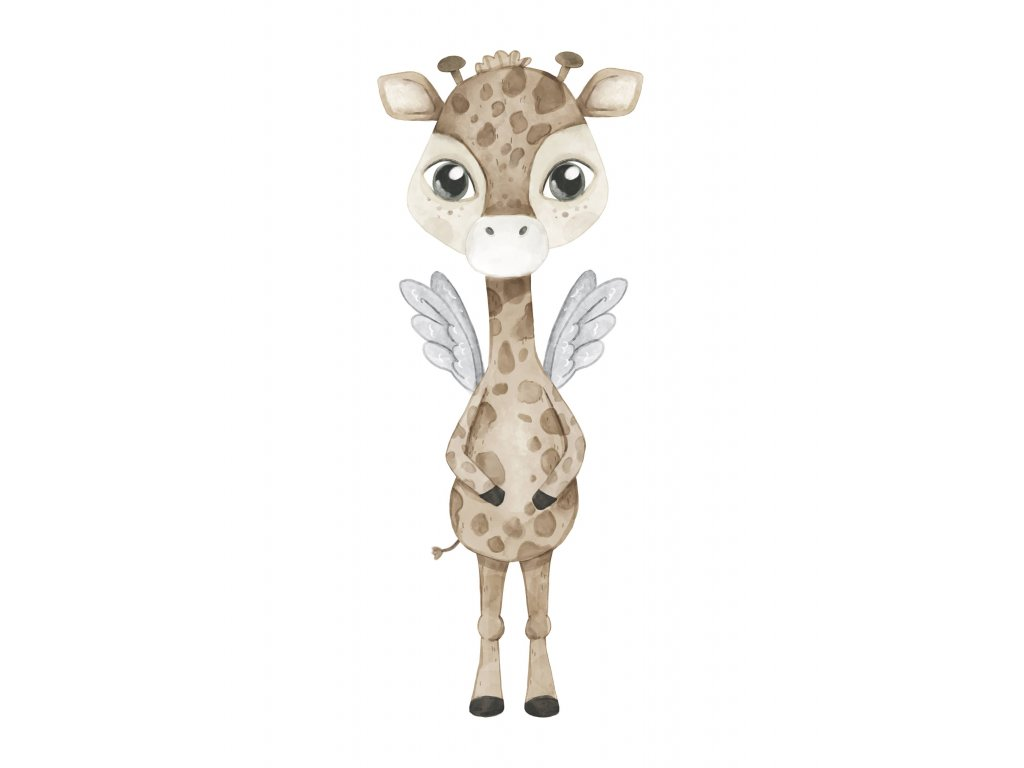 Zina the Giraffe 1