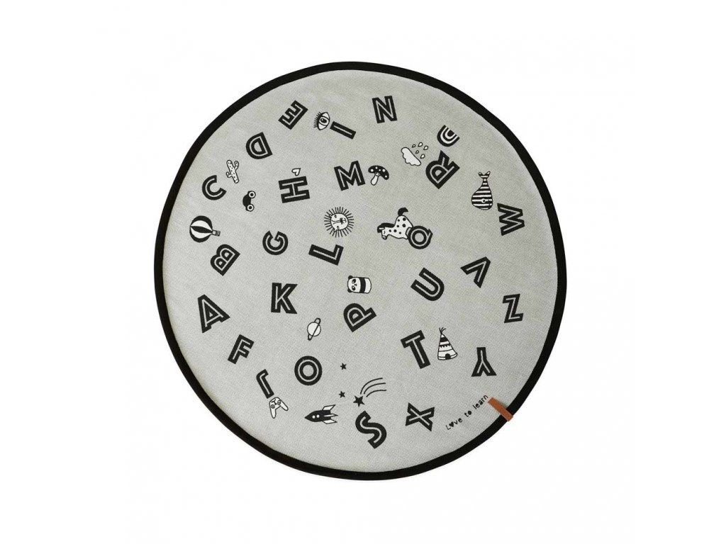 The Alphabet Rug Rug 1100511 202 Light Grey 1000x1000