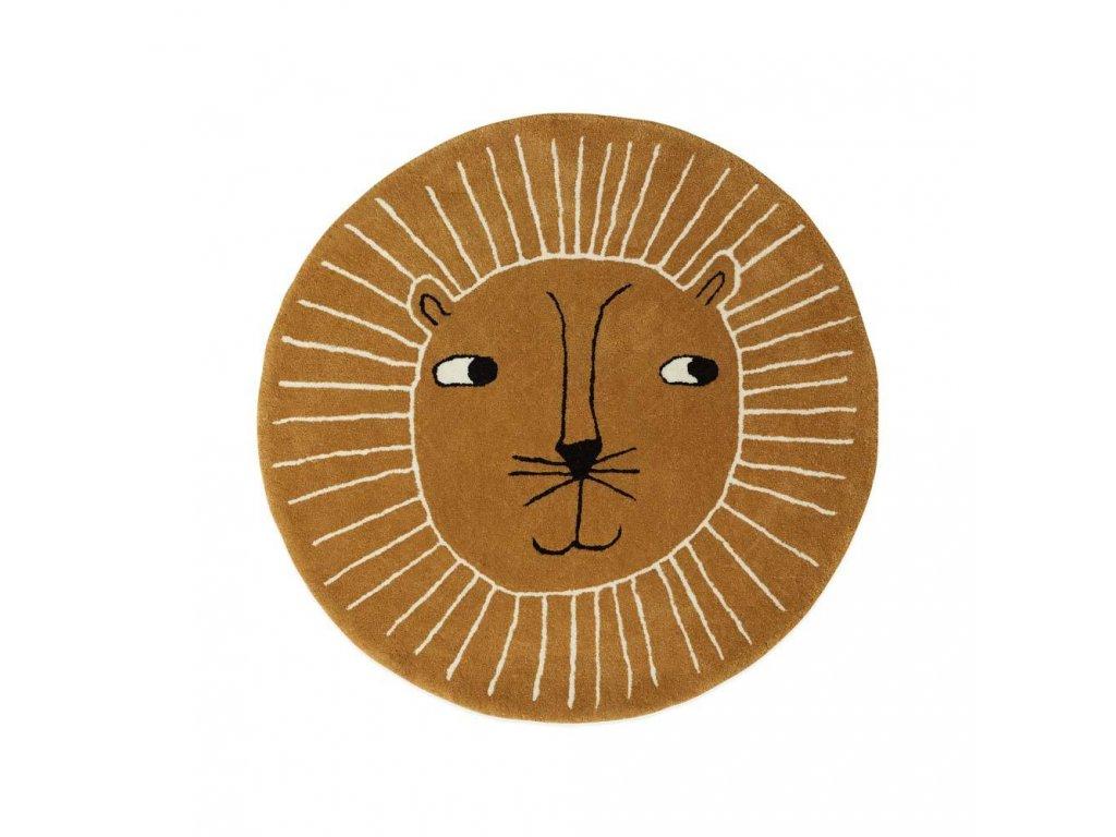 Lion Rug Rug 1100514 307 Caramel 1000x1000