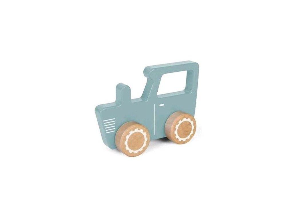 4377 Wooden tractor 1
