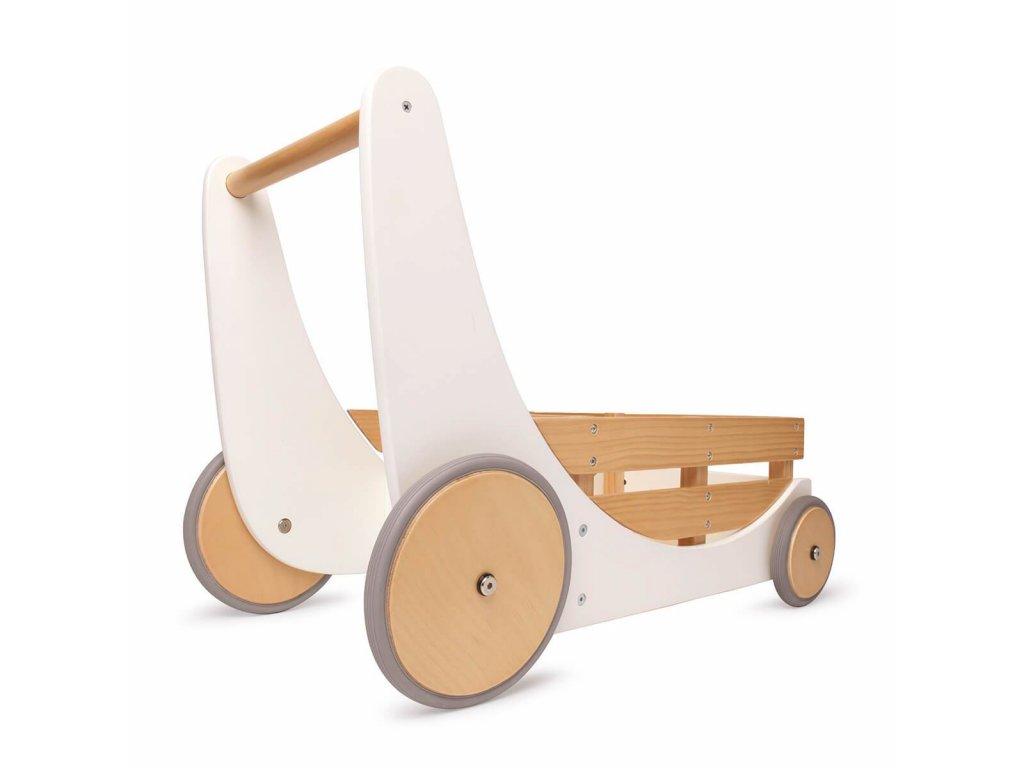 Kinderfeets lesen vozicek za igrace in urjenje hoje white 03612 001 3000x