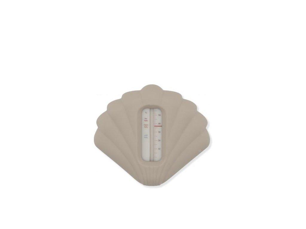Konges Sloejd Silicone Bath Thermometer Warm Grey Blush Konges Slojd Siliconen Schelp Badthermometer Warmgrijs Grijs Elenfhant 600PX 1024x1024@2x