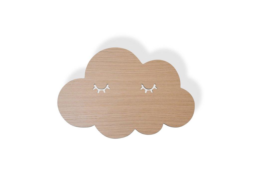 Cloud sleepy lamp oak
