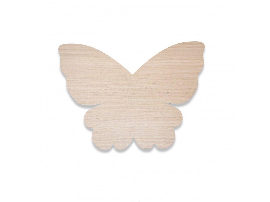 Butterfly lamp oak 01