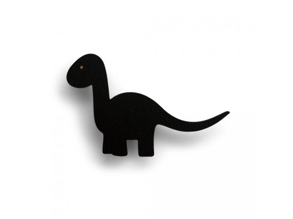 Dino wall hook black 1 e1539200169822