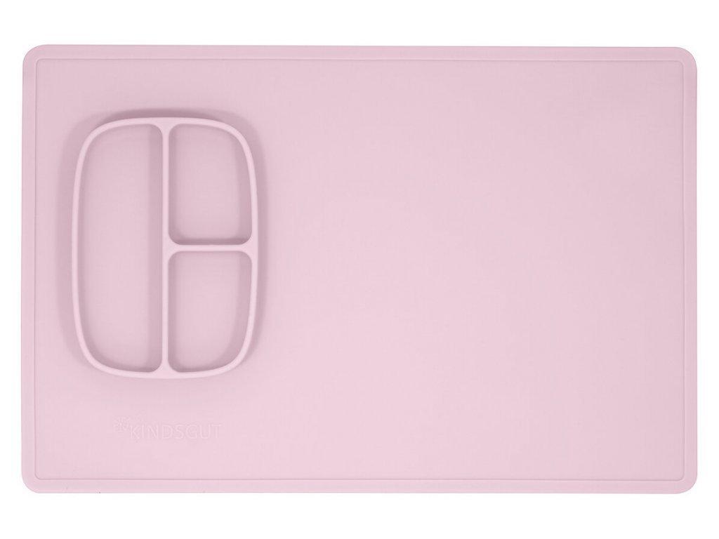 KINDSGUT silikonová podložka na malování růžová