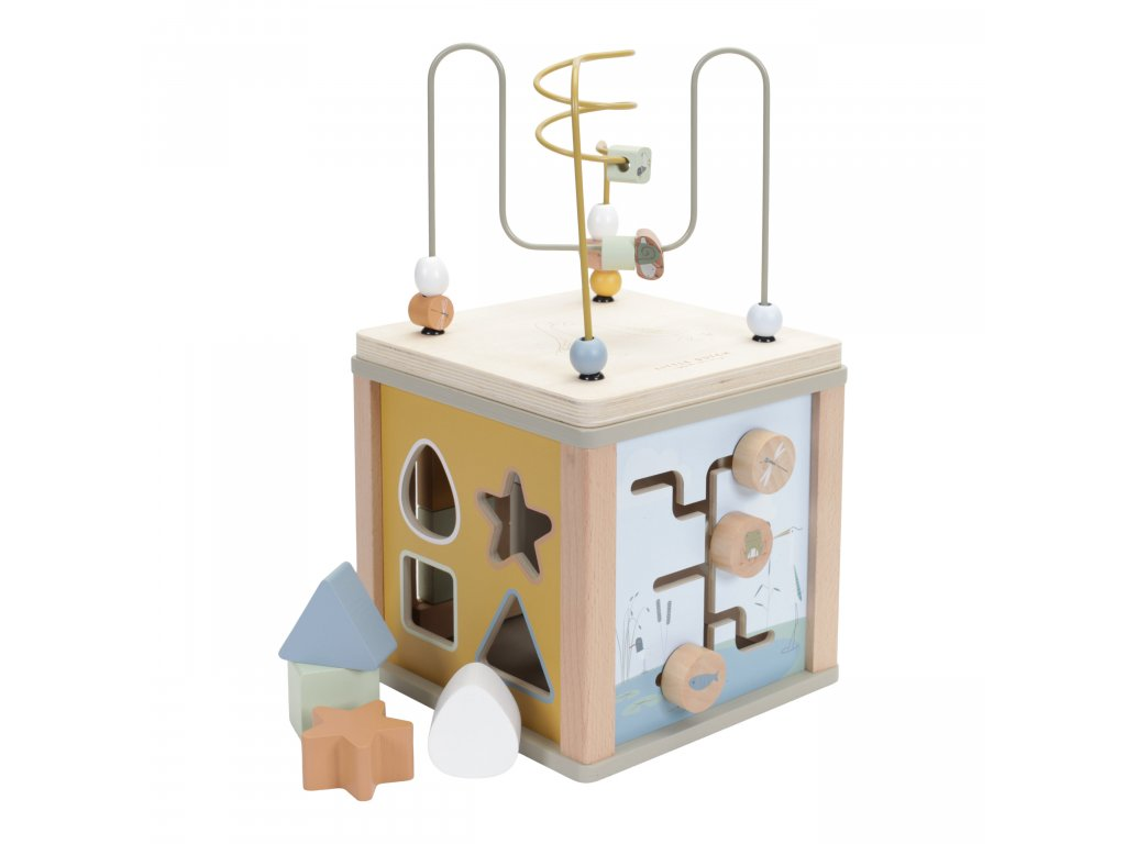 LD 7030 Activity Cube Olive 1 scaled