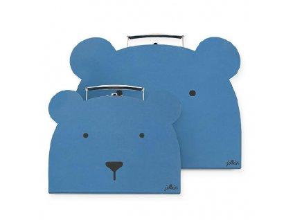 JOLLEIN sada kufříků modré